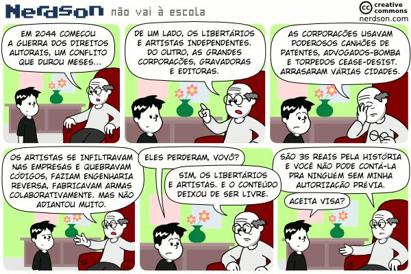 Direitos Autorais - Nerdson
