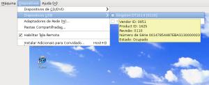 VirtualBox: montar dispositivo USB